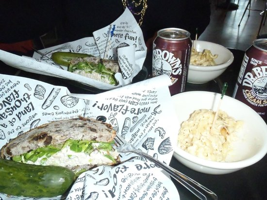 Zingerman's Delicatessen : #63 with a side of mac and cheese split between 2 peeps.