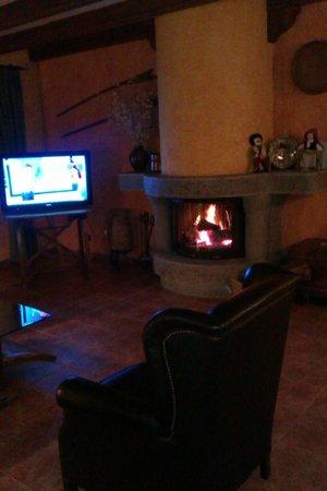 Hotel Turmo: salon de estar