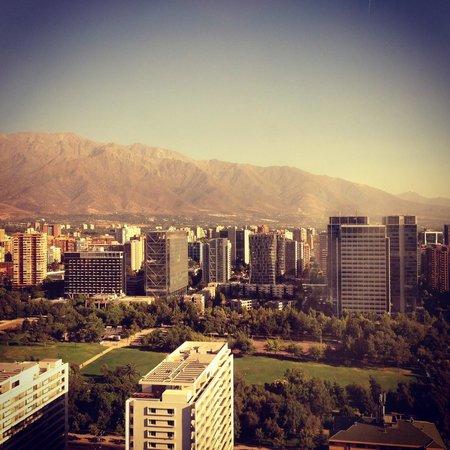 Boulevard Suites: Vista para os melhores bairros de Santiago