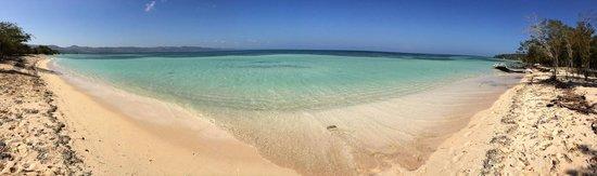 Corales Punta Rusia: Playa, Punta Rucia