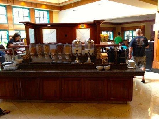 HYATT house Miami Airport : Breakfast area