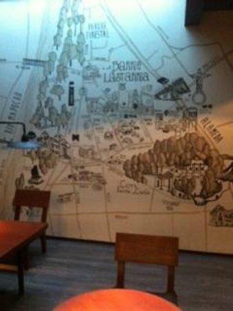 Hotel Ismael: Bello Mural del Barrio