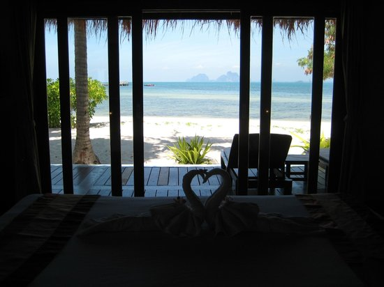 Koh Mook Sivalai Beach Resort : View from villa in front row