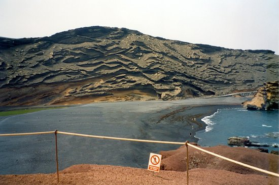 El Lago Verde: spiaggia