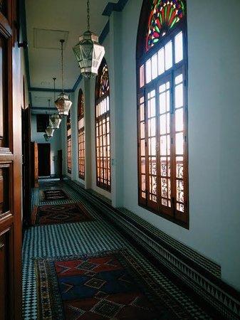 Palais Amani : halls of the hotel