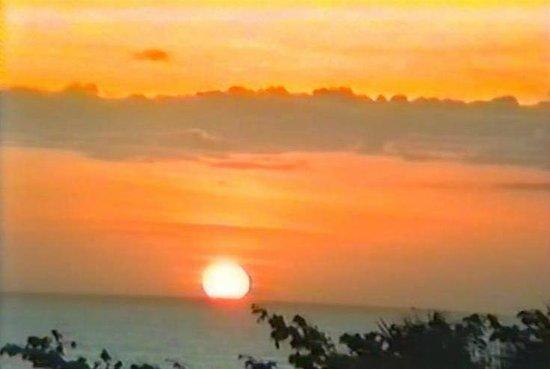 Angel Falls : Unser letzter Sonnenuntergang über den Orinoco