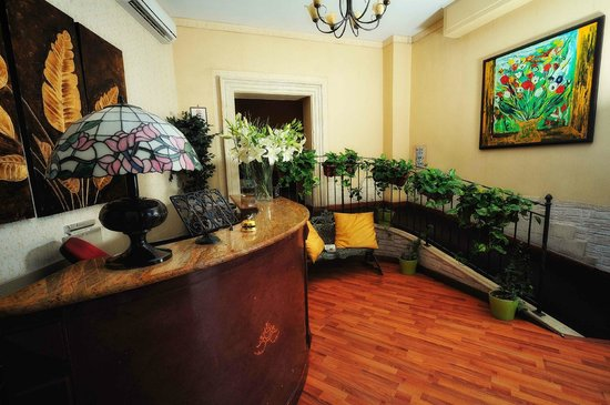 Hotel Sant'Elia : Reception
