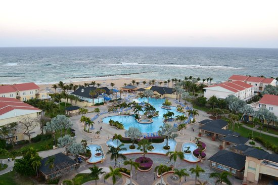 St. Kitts Marriott Resort & The Royal Beach Casino : Great View from the top of the hotel