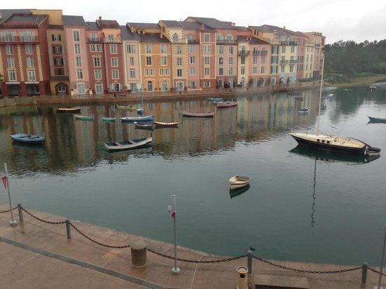 Loews Portofino Bay Hotel at Universal Orlando: View out of the window