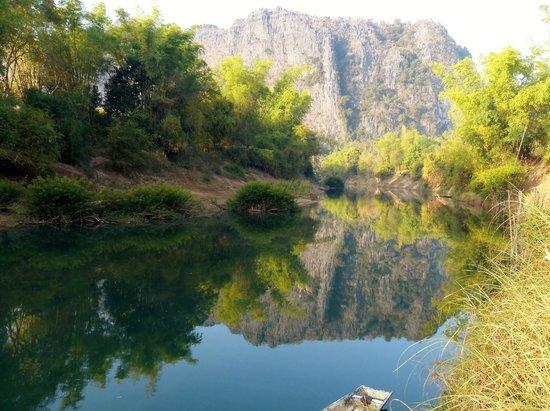 Sala Hin Boun: la rivière Hin Boun