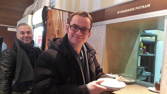 Adventure Warsaw: At the milkbar counter!
