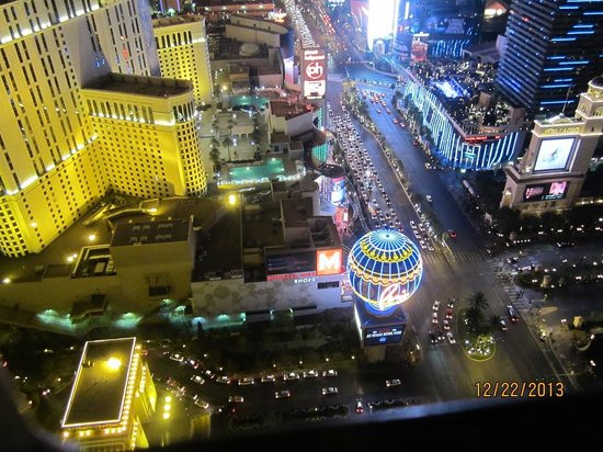 Eiffel Tower Experience at Paris Las Vegas : Top of the Tower