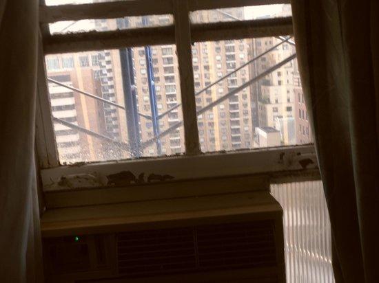 West Side YMCA: Window (you can not open it)
