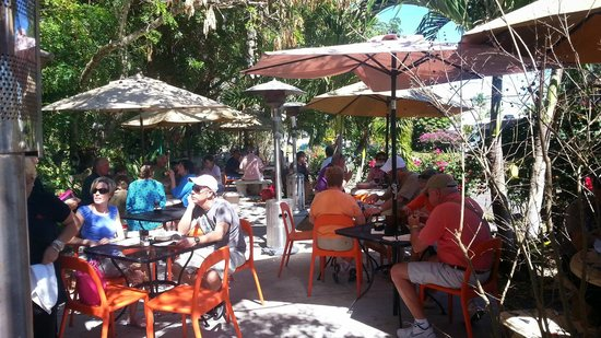 Havana Cafe of the Everglades : The Patio at Havana Cafe