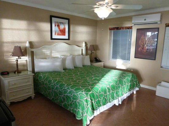 Spacious and bright room at Lime Tree Bay Resort