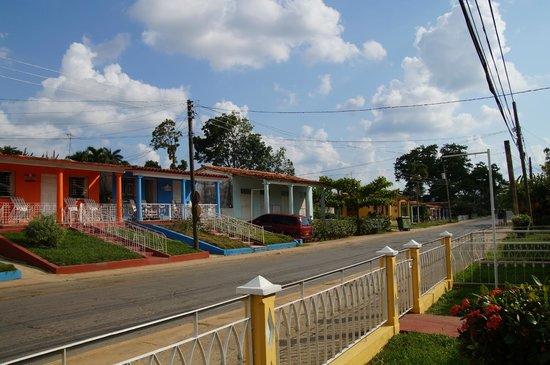 Villa Graciela y Carlos: von der Terrasse aus