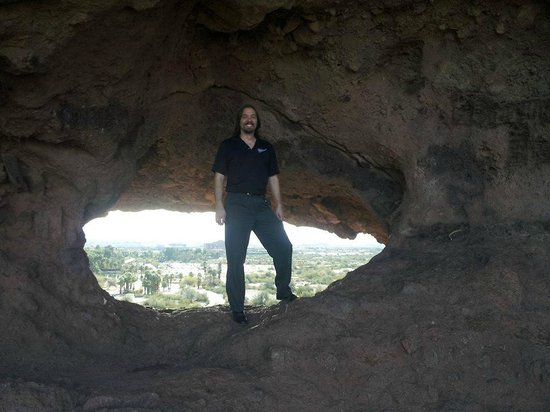 Hole in the Rock: Me inside the hole