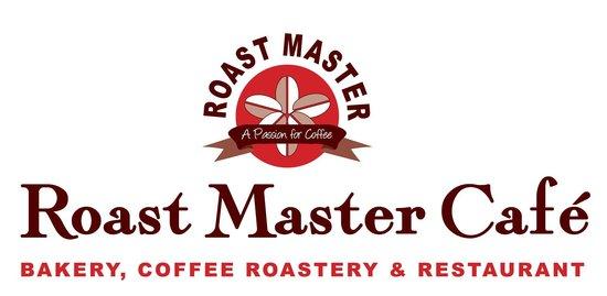 Roast Master Cafe': Logo