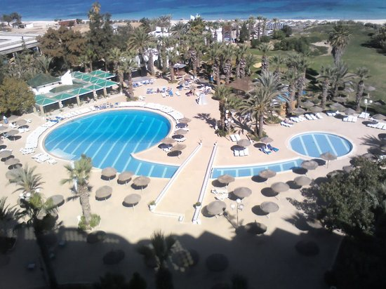 Marhaba Palace Hotel: view from room 607