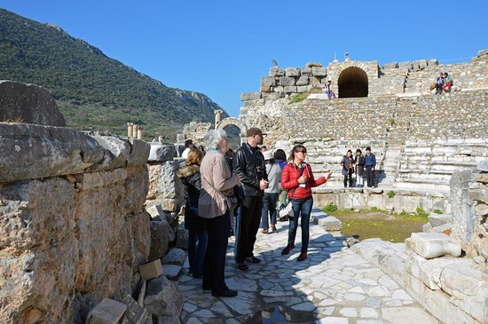 Ephesus Tours by OTTI Travel - Private Tours: Efes Small Theatre