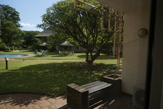 Cresta Thapama Hotel: view from the room