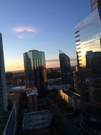 InterContinental Buckhead Atlanta: Room witha view!