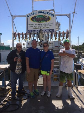 Rodeo Charters: 20 Yellow Tail, 2 Black Fin Tuna, 2 Mackerel, 1 Yellow Jack