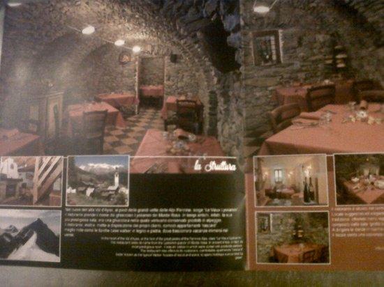 Antagnod, Italy: LE VIEUX LYSKAMM RESTAURANT