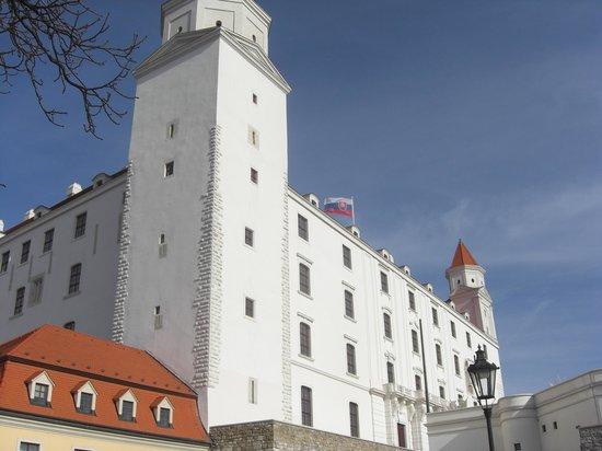 El Castillo de Bratislava(Hrad): The castle