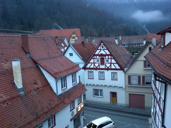 Hotel Ochsen: View from our room