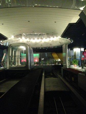 Bund Sightseeing Tunnel : Платформа