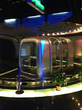 Bund Sightseeing Tunnel : Вагон