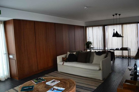 L'AND Vineyards : Sala da suite
