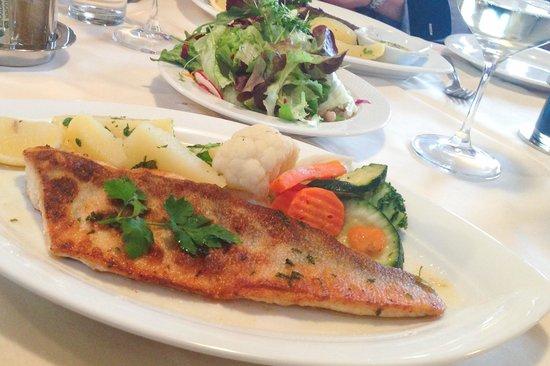 Joainig Gasthof: Local fish