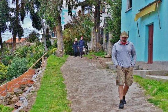Hotel La Cupula: On the path