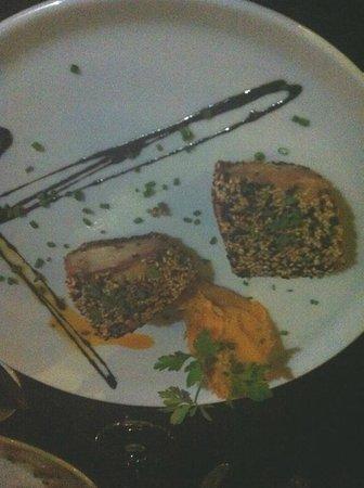 Cera 23: Filetto di Tonno con purè di patate, zucca e cannella