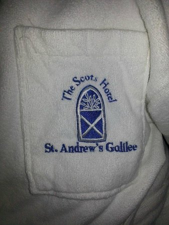 Scots Hotel: Plush robes to wear in your room!