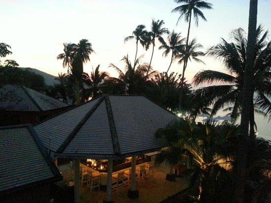 Saboey Resort and Villas : View from Deluxe 12 during sunset