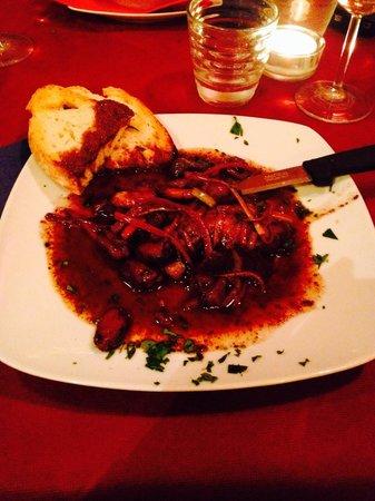 Ristorante Cafe Pinar: Sgrillettata di gamberi e totani