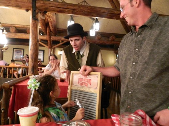 The Hoop-Dee-Doo Musical Revue: Playing the washboard