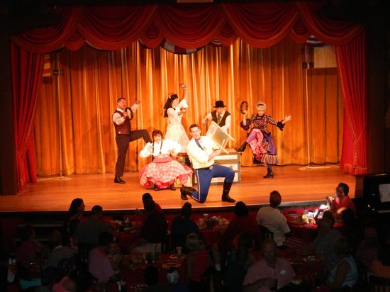 The Hoop-Dee-Doo Musical Revue : Our view from the balcony