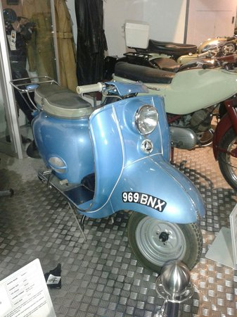 Coventry Transport Museum : Classic British scooter