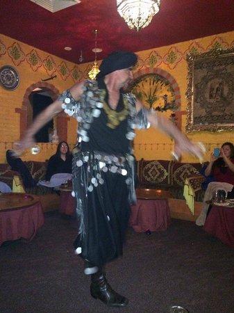 Casablanca Morracan Restaurant : Omar