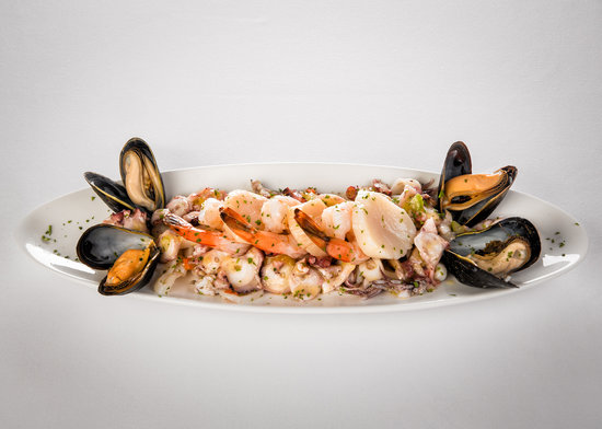Ristorante San Marco: One of our Seafood Dishes