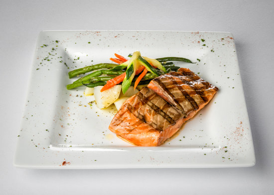 Ristorante San Marco: Our delicious Salmon