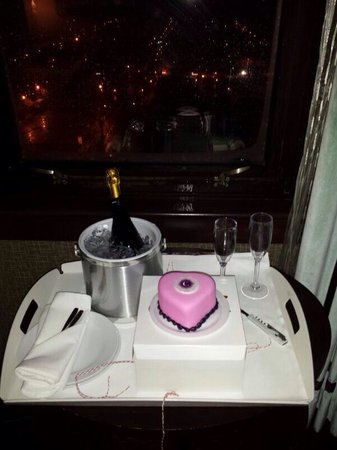 The Chelsea : Our valentine gift from the hotel
