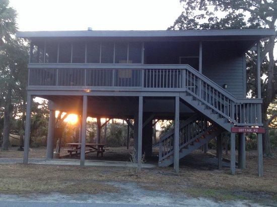 Fort McAllister State Historic Park Campground: Sunrise
