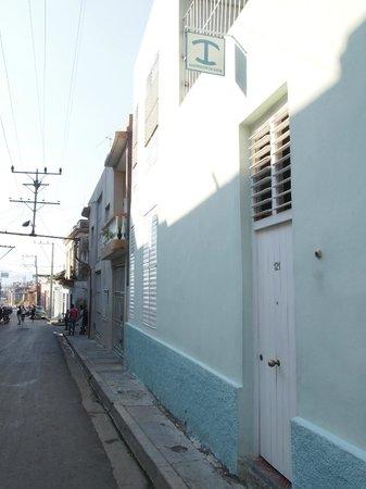 Casa Azul: Front door