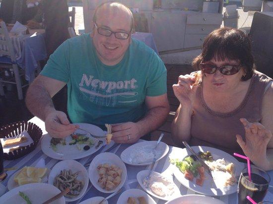 Theo's Seafood Restaurant: Mezze