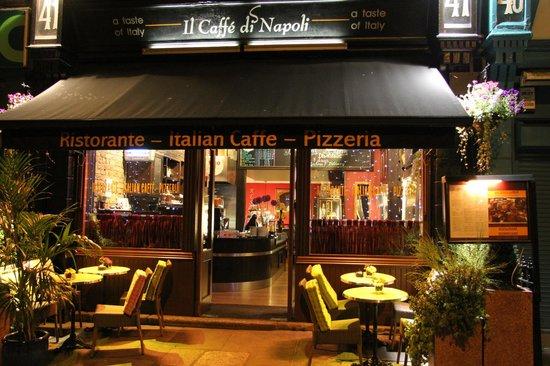 Photo of Pizza Place Il Caffe di Napoli at 41 Westland Row, Dublin IE-1278, Ireland
